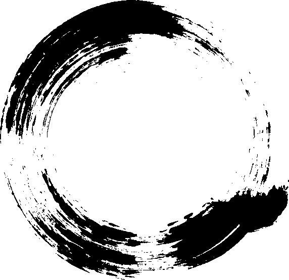 12 Grunge Circle Brush Stroke (PNG Transparent).