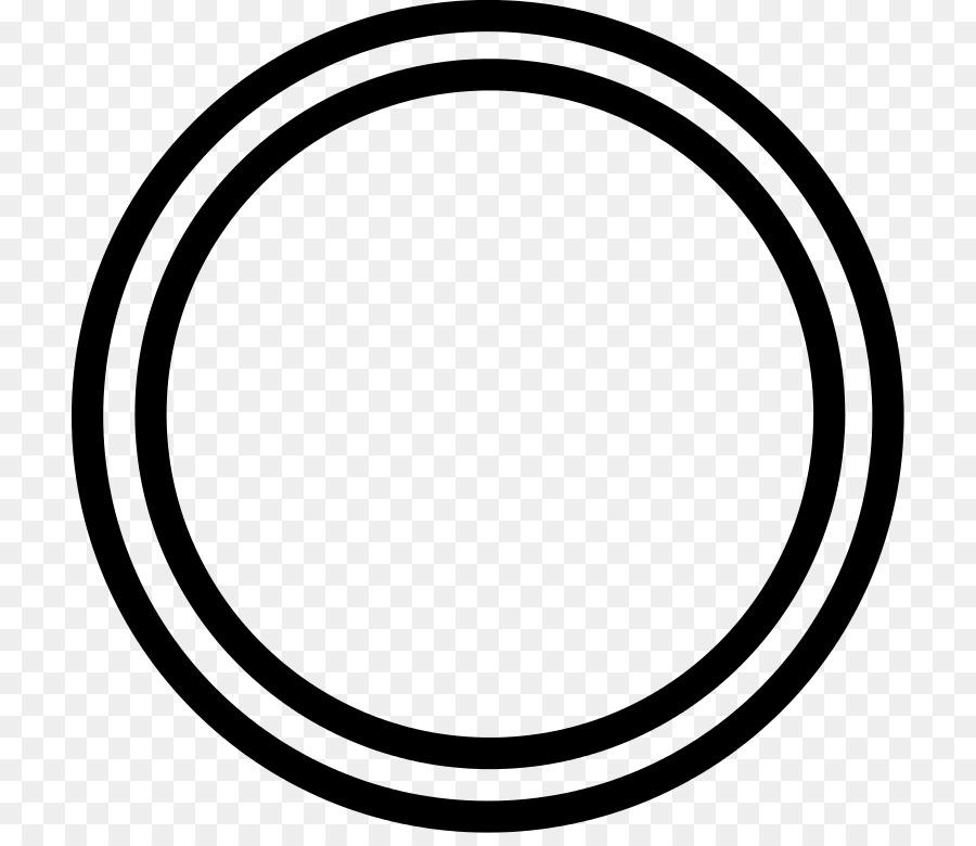 White Circle png download.