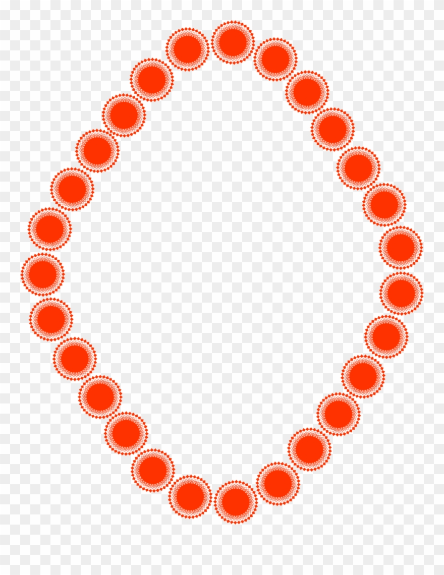 Borders In Circle Shape Clipart (#643352).
