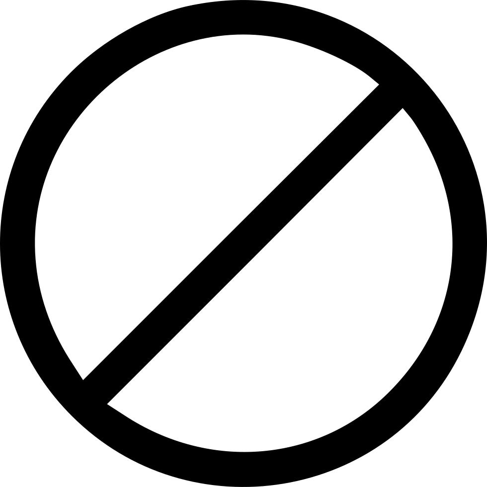 No symbol Circle Clip art.