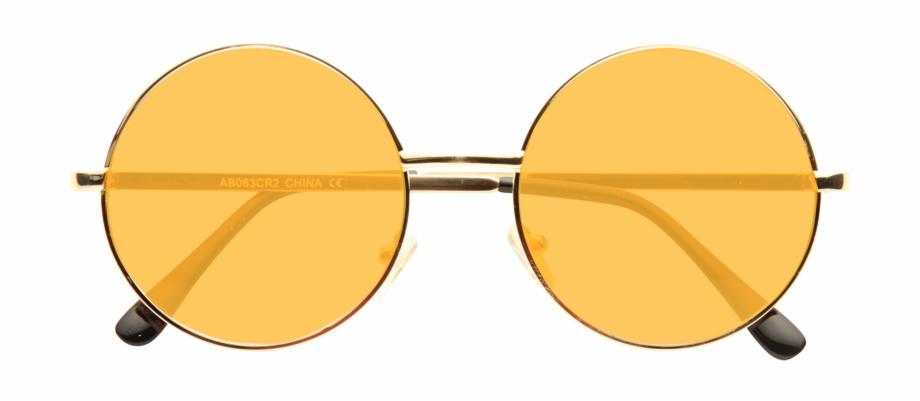 Round Sunglasses Png Transparent Background.
