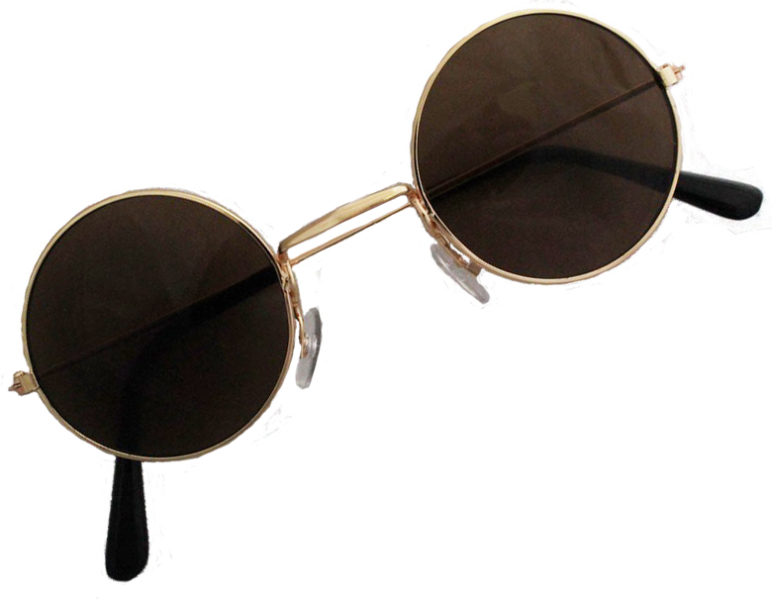 Hippie Glasses Png (+).