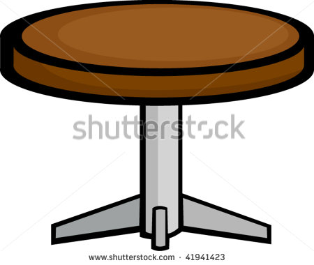 Round Table Clipart.