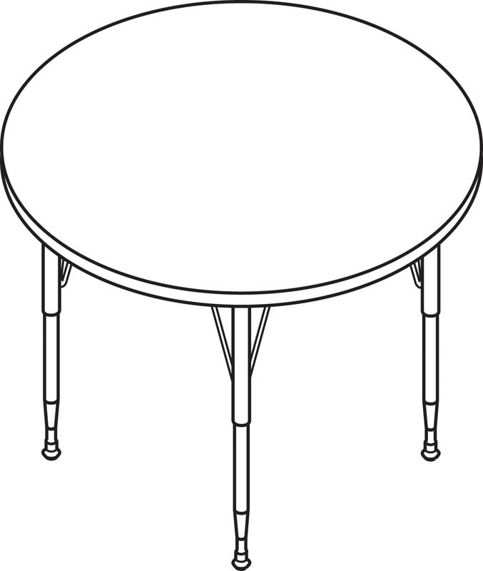 50 Round Table Drawing, Drawing Table Stock Illustrations GoGraph.