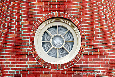 Round Window Royalty Free Stock Images.