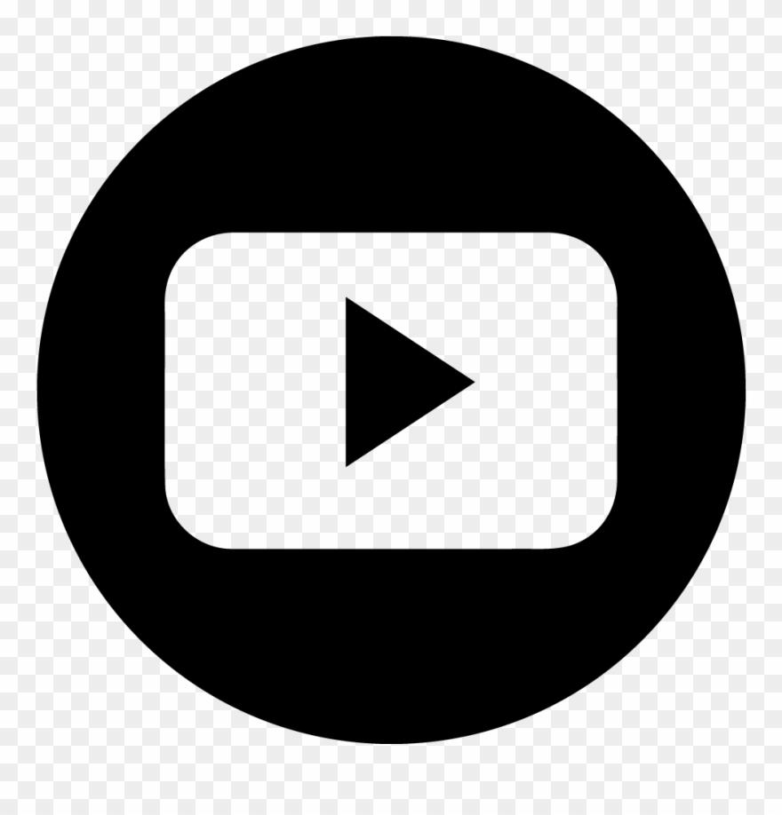 Youtube Logo Vector Circle Clipart (#902496).