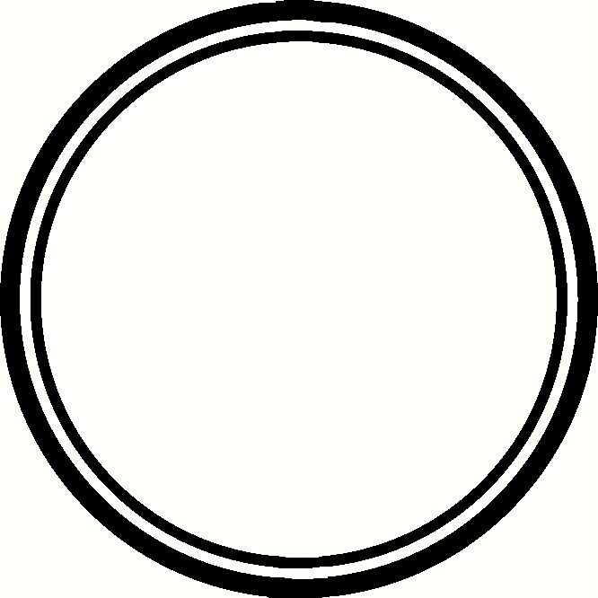 Circle border clipart.