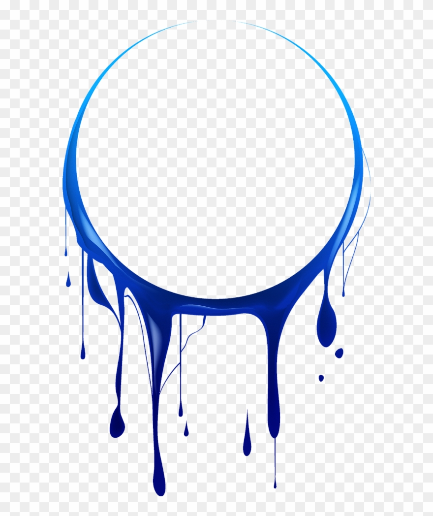 Mq Blue Circle Circles Paint Splash.