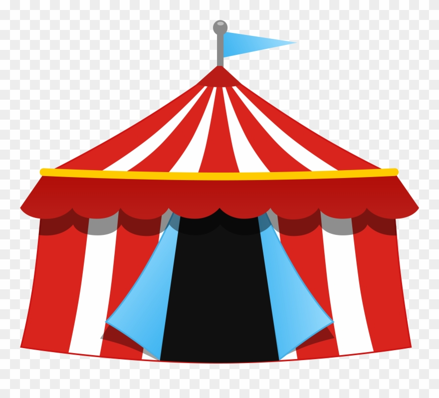 Circus Clipart Event Tent.