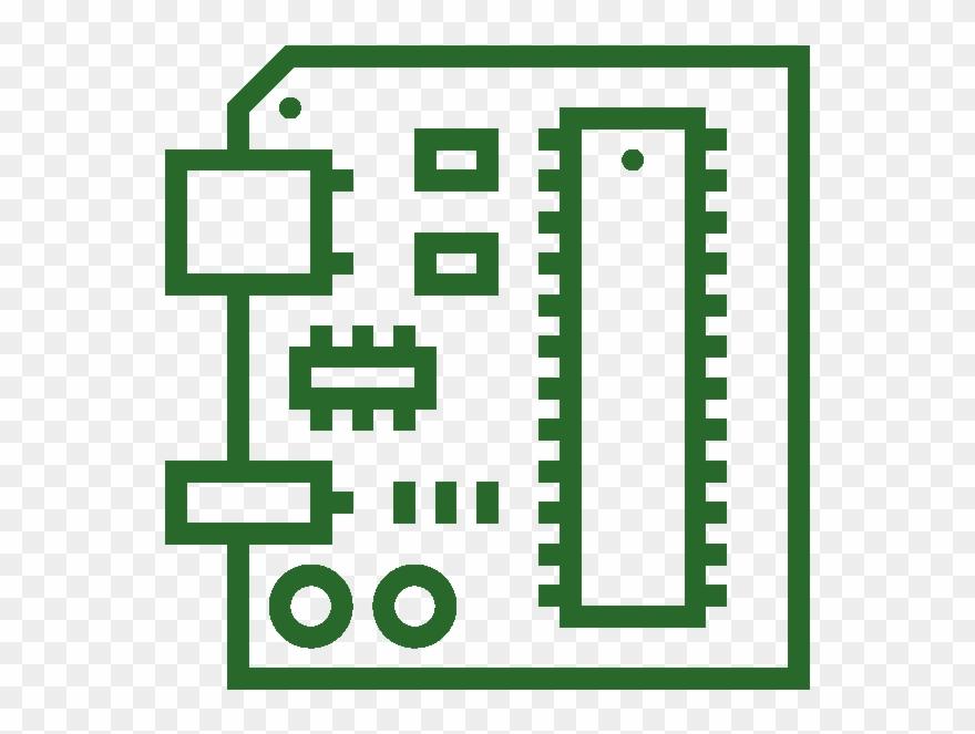 circuit board clip art #2