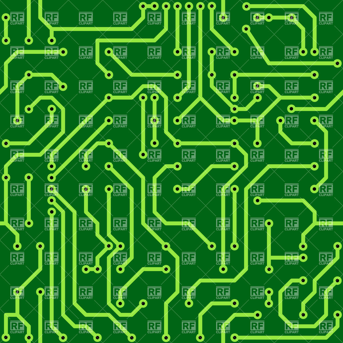 Circuit Board Clipart Clipground Cpu Royalty Free Stock Photo Image 24475895 Background 33437 Download Vector