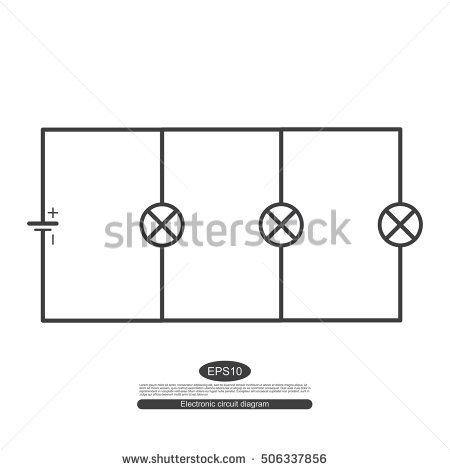 Circuit Diagram Symbols Stock Images, Royalty.