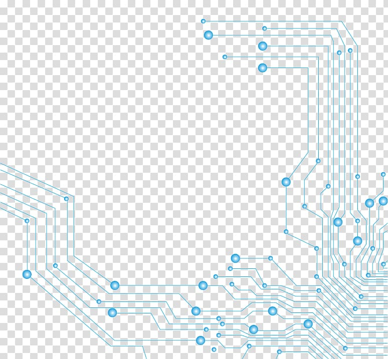 Printed circuit board Circuit diagram Icon, Science and Technology.