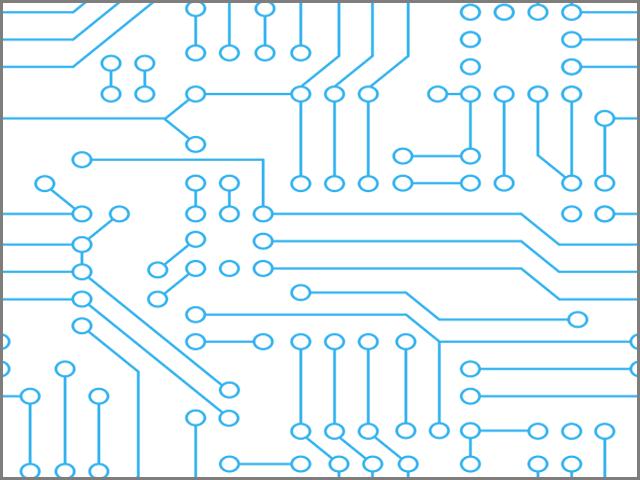 Circuit Board Pattern.