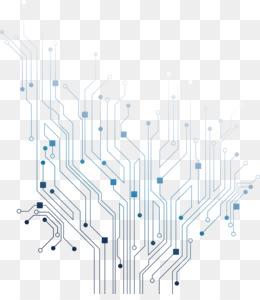 Electronic Circuit PNG.