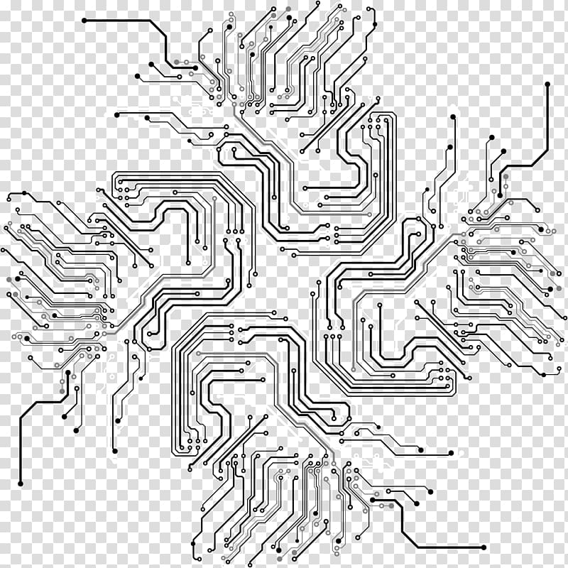 Circuit lines,line,Creative, white and gray abstract transparent.