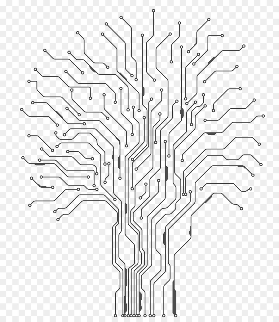 Tree Drawing png download.