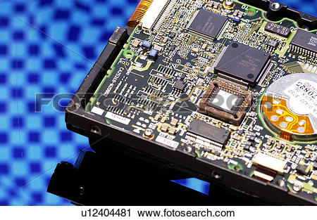 Stock Photography of part, IC, parts, PC, PCB, semiconductor.