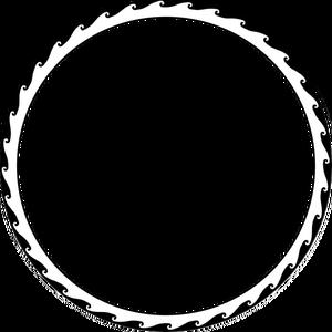 3847 circle border clip art.