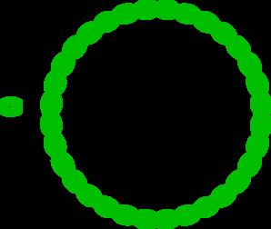 Green Circular Border Clip Art at Clker.com.