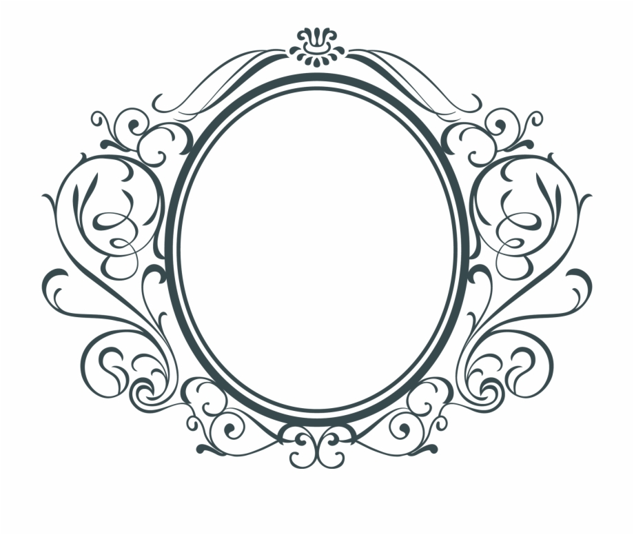Decorative Circular Frame.