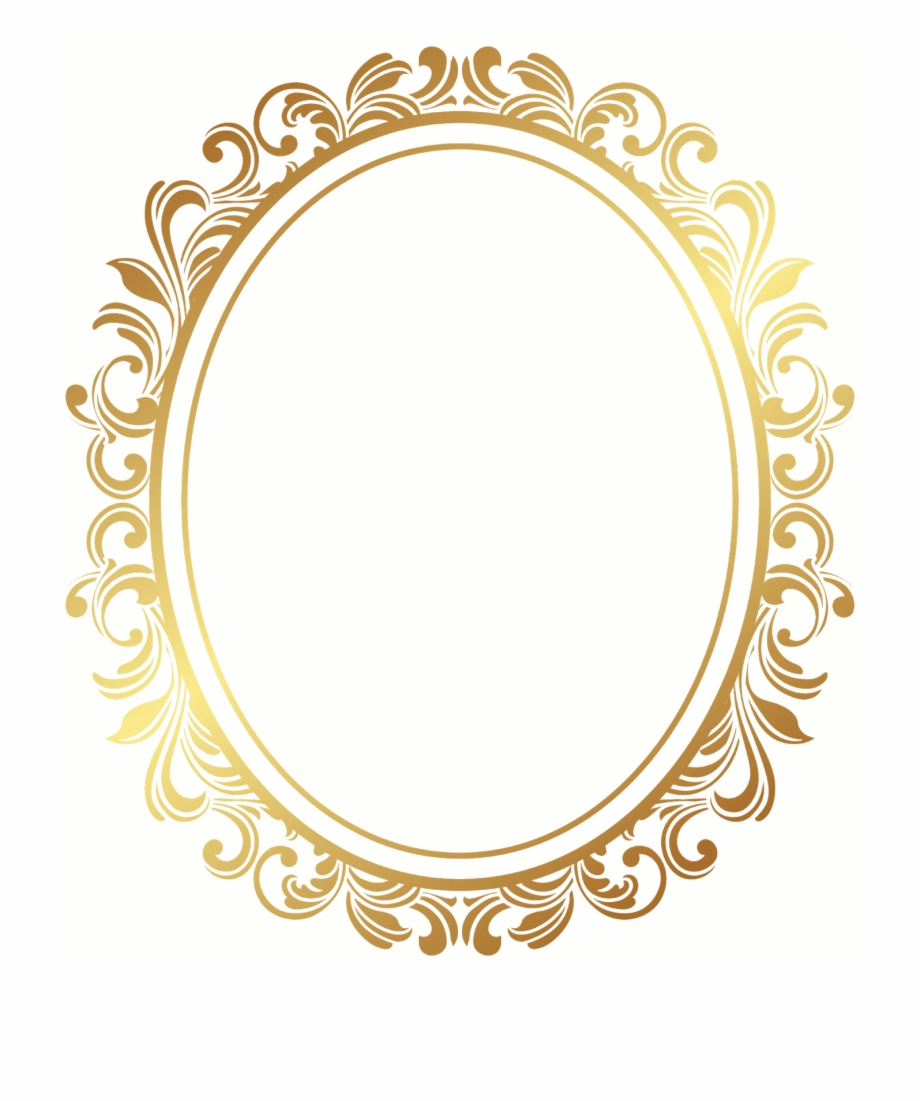Gold, Picture Frame.