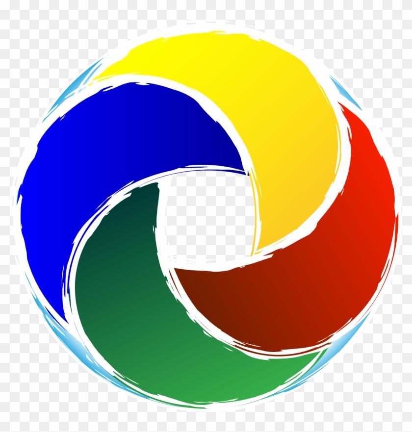 Circular Logo &ndash Dorota Heidels Portfolio.