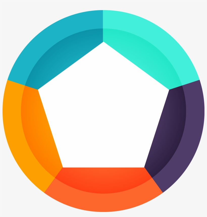 Circle Logo Art Flower Figure Transprent Png.
