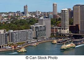Stock Photos of Sydney Circular Quay Sydney New South Wales.