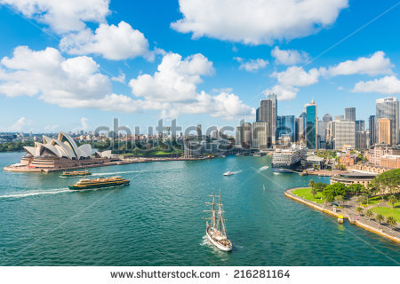 Circular Quay Opera House Sydney Australia Stock Photo 192242918.