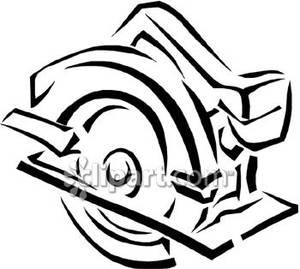 Circular Saw Clipart.