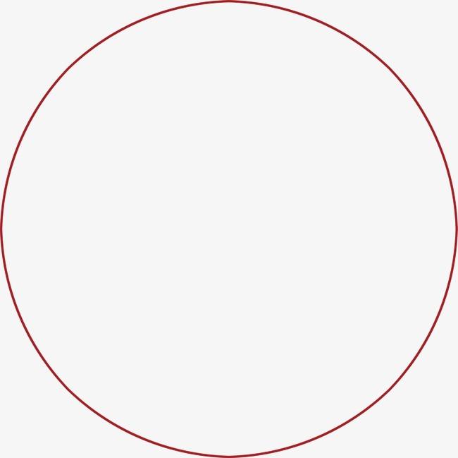 Círculo Rojo Background, Rojo, Ronda, Antecedentes Imagen PNG para.