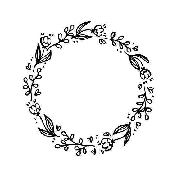 Pin on Flower circle.