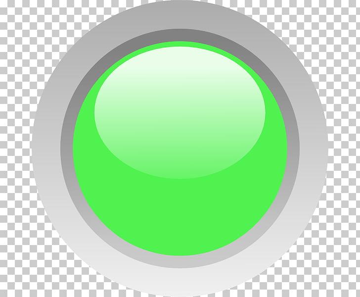 Diodo emisor de luz círculo verde lámpara led, círculo de.