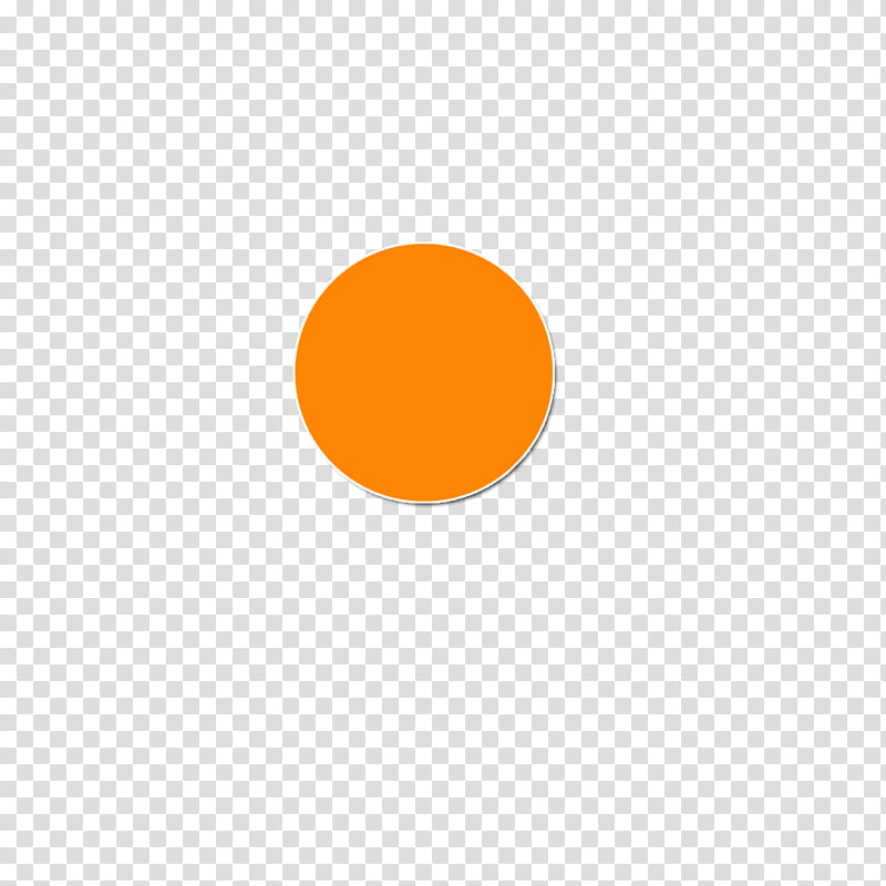 Circulos, orange circle transparent background PNG clipart.