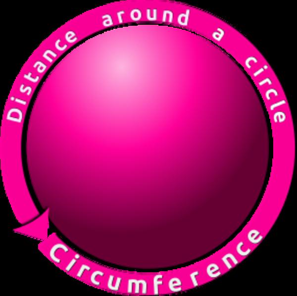 Circumference Clip Art.