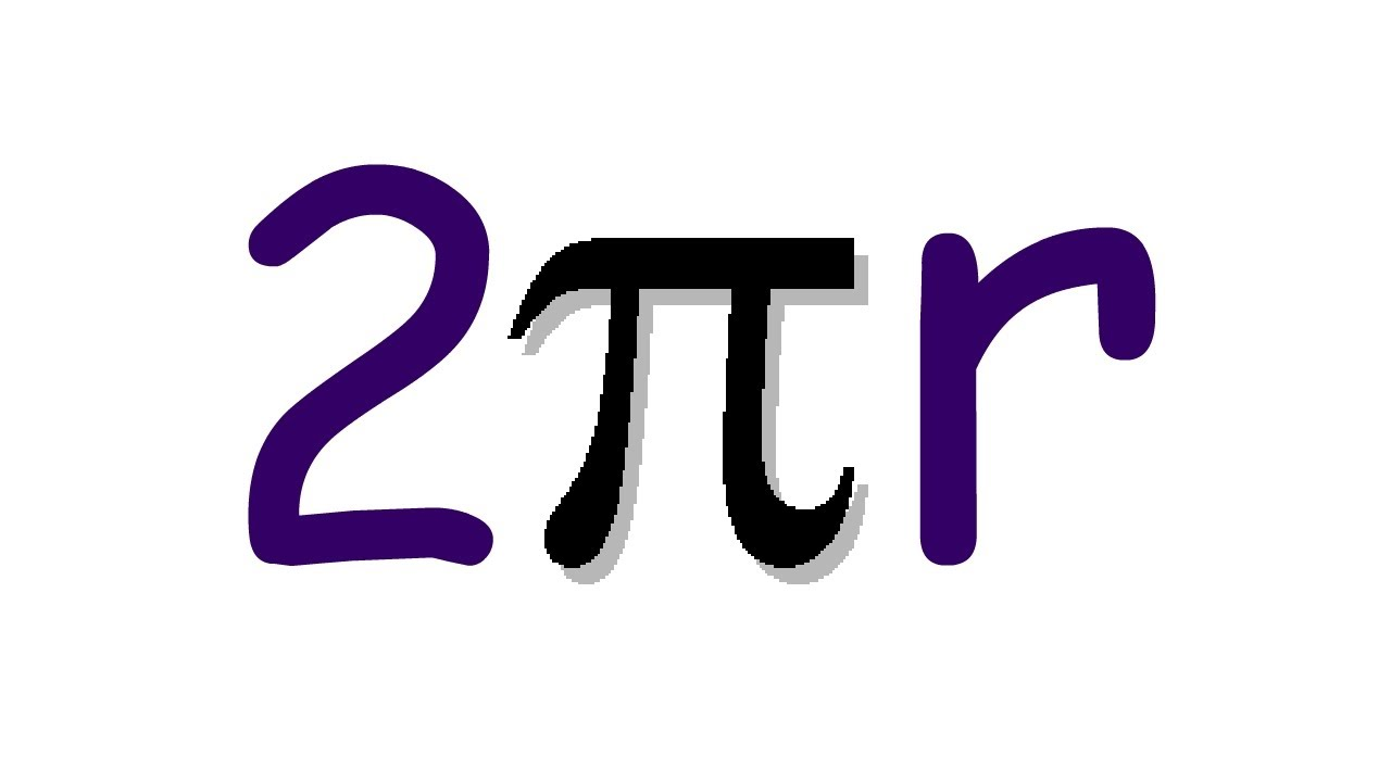 Circumference of a circle, 2πr, How to get the Formula.