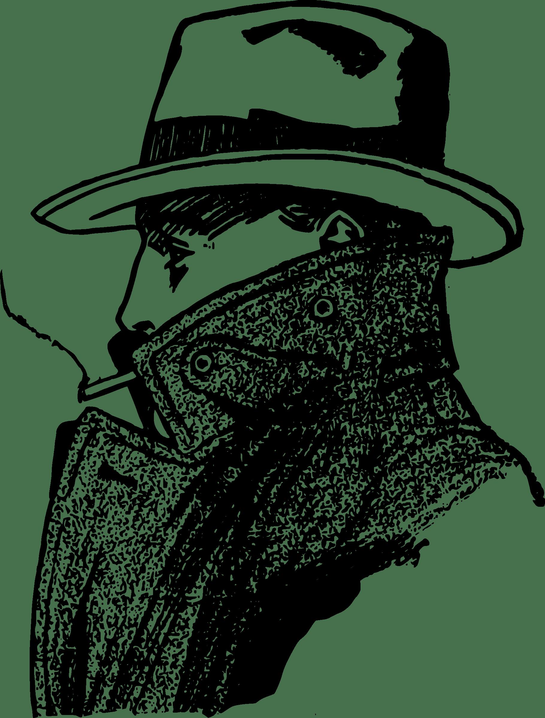 Detective clipart circumspect, Detective circumspect.
