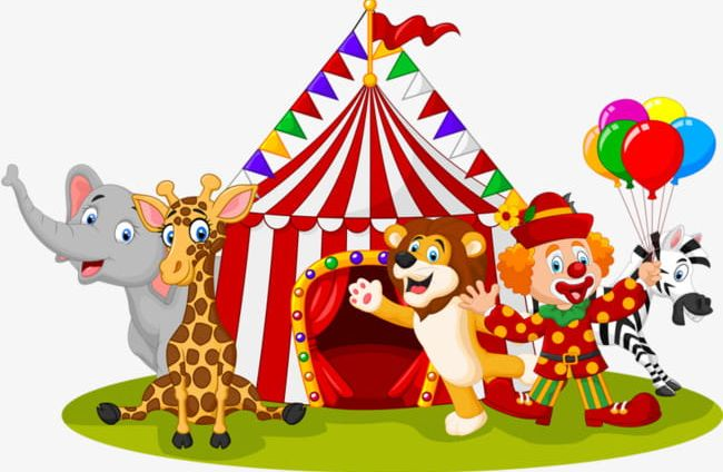Circus Animals PNG, Clipart, Animal, Animals Clipart, Backgrounds.