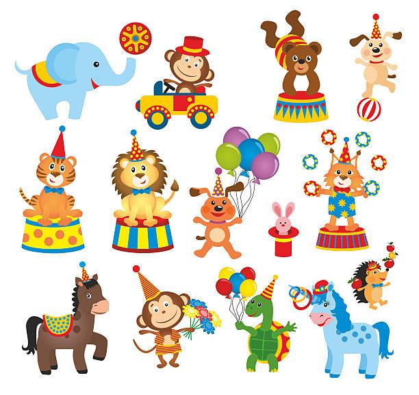 Best Circus Animals Illustrations, Royalty.