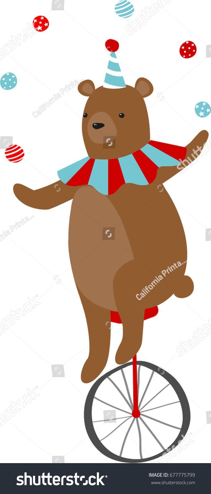 Circus bear clipart 6 » Clipart Portal.