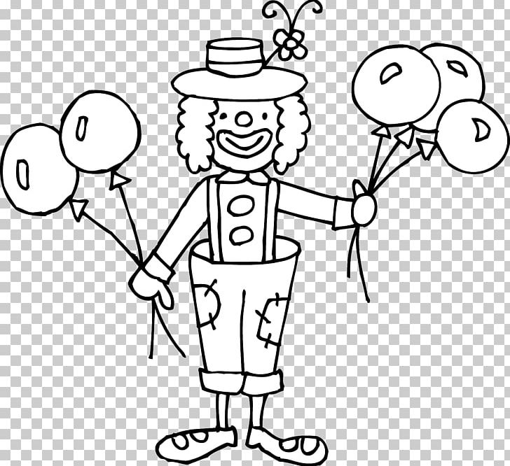 Joker Clown Circus Black And White PNG, Clipart, Angle, Area.