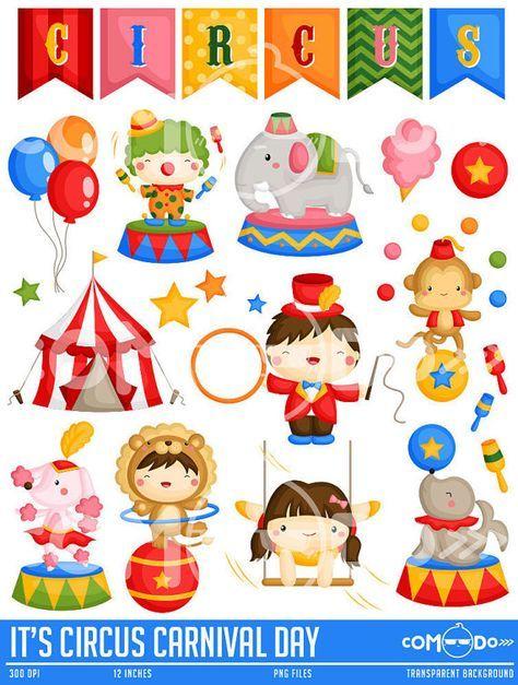 Circus Carnival Clipart.