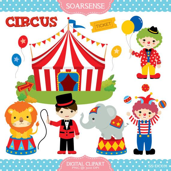Circus clipart images 1 » Clipart Station.