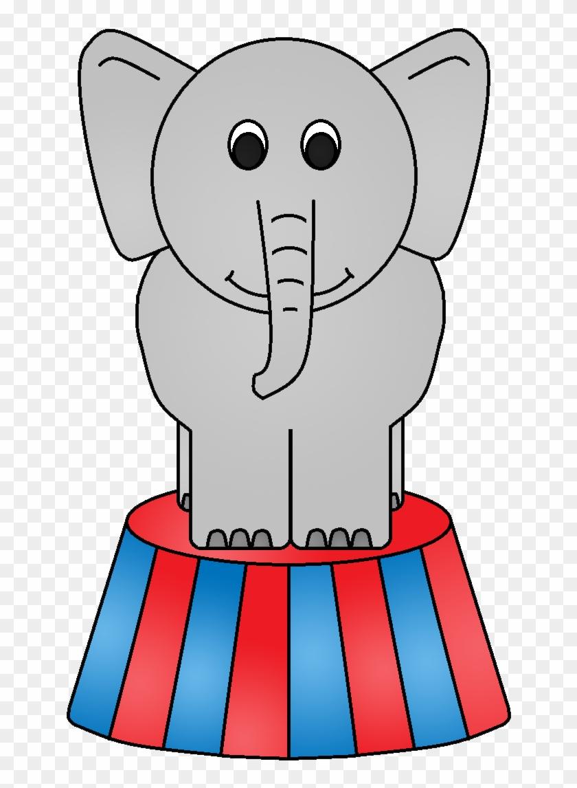 Circus Elephant Clipart Clipart Kid.
