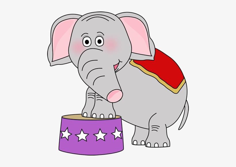 Circus Elephant Clipart.