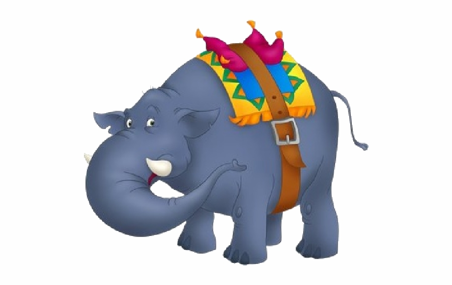 Funny Circus Elephant Clipart Image Elephants Clip.