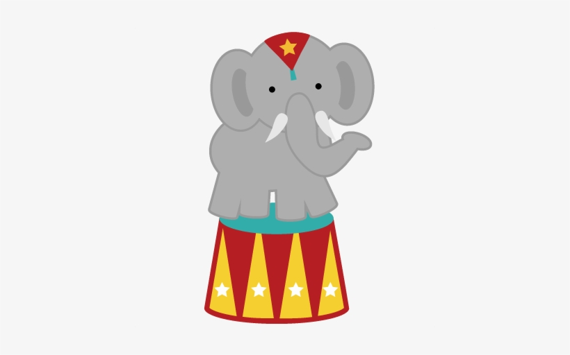 Circus Elephant Png Svg For Back To.