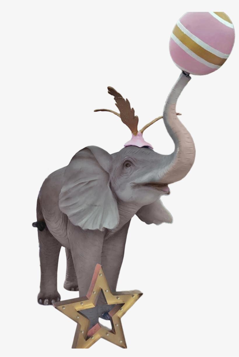 Pink Circus Elephant.