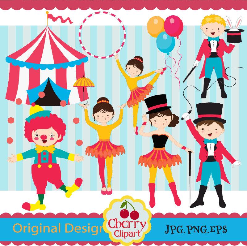 Circus Clip Art Circus boys and girls clip artCarnival Clip.